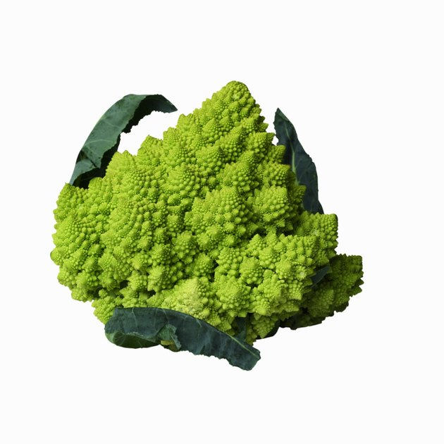 Close-up of romanesco