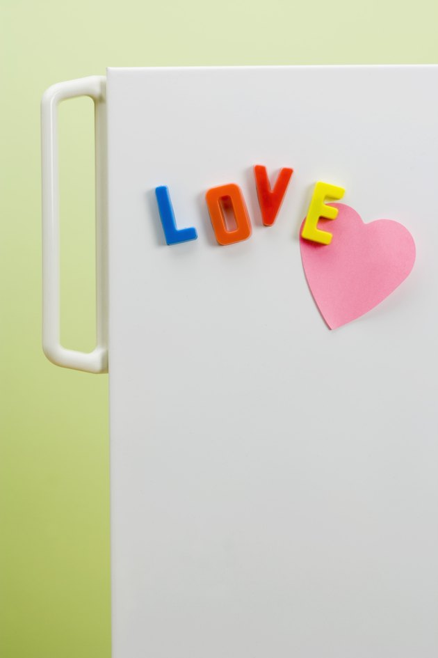 Love refrigerator magnets