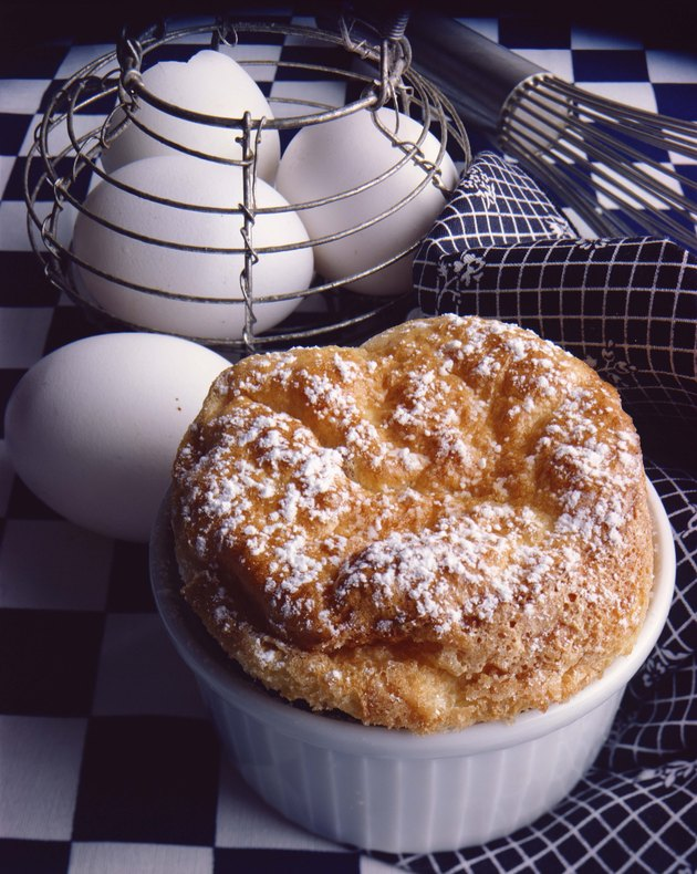 Souffle and eggs