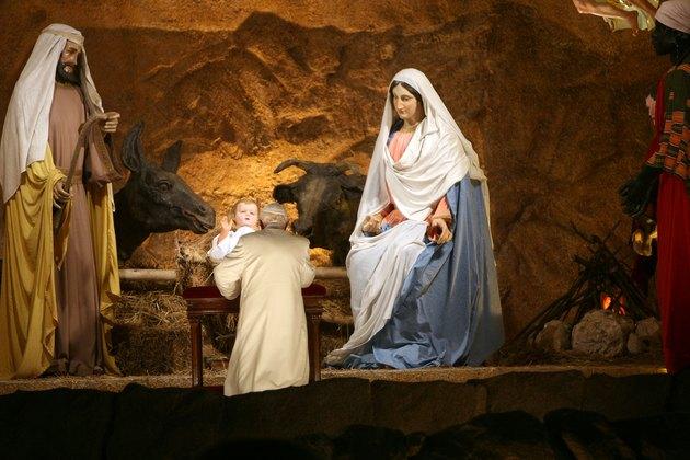 Pope Benedict XVI Celebrates First Vespers And Te Deum Prayers
