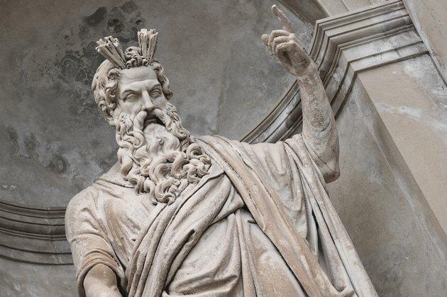 Statue of Zeus in Greece