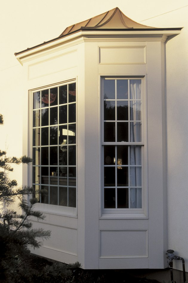 Bay window of home