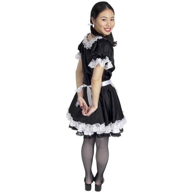 Smiling maid