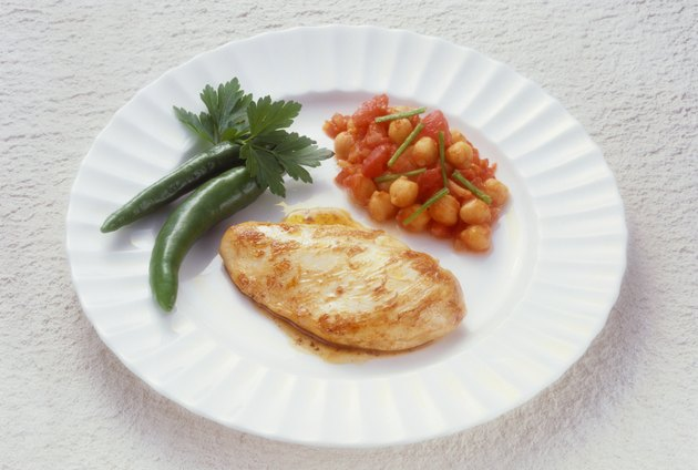 Chicken Breast with Chick Peas