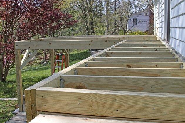 Half Built Deck