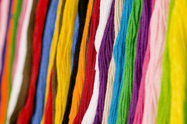 Strands of yarn