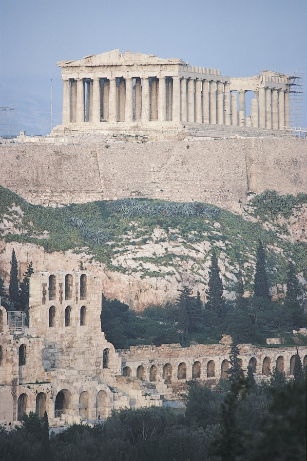 Acropolis of Athens , Greece