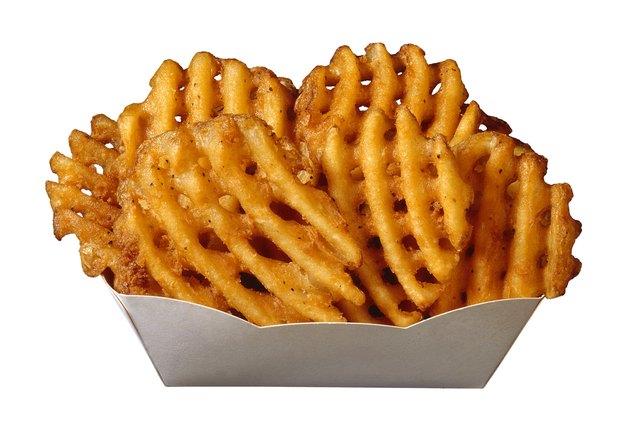 Waffle-cut french fries