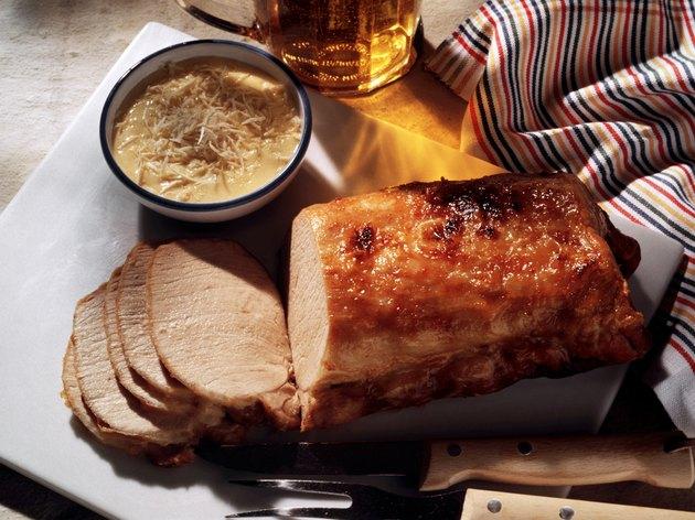 Roast Pork with Horseradish Mayonnaise