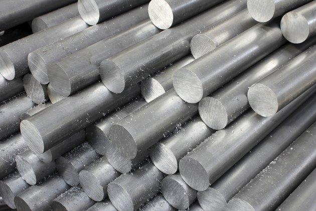 Solid aluminum tubes