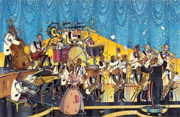 The swing orchestra