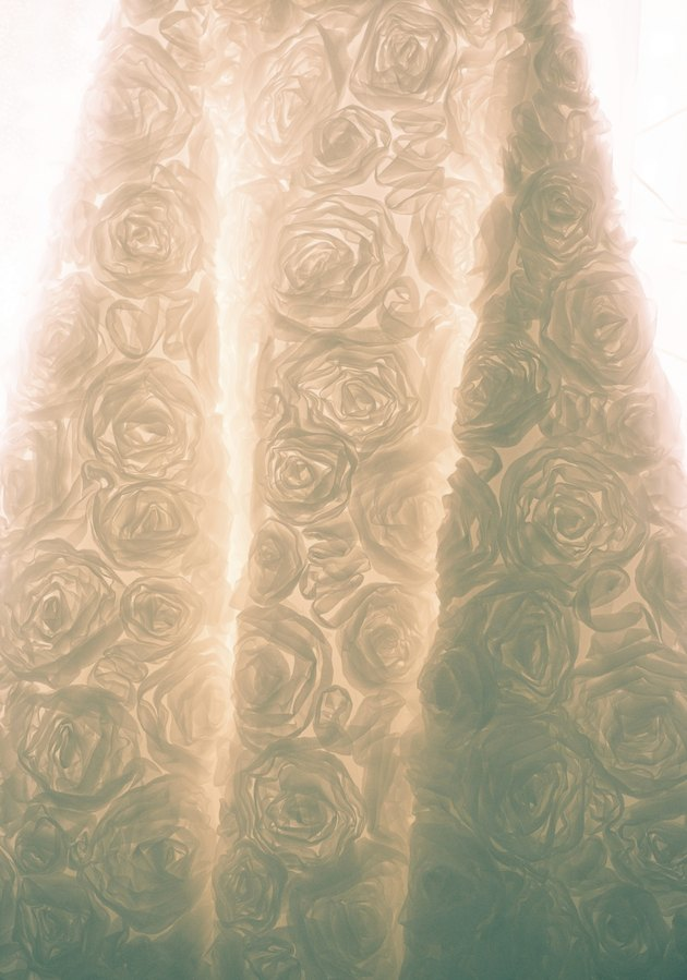 Wedding dress skirt