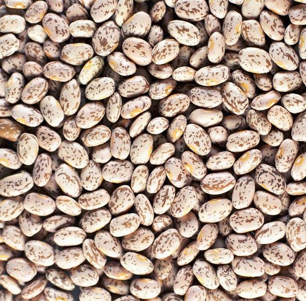 Pinto beans (full frame)