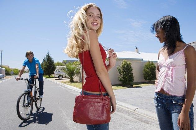 Teenagers on the street