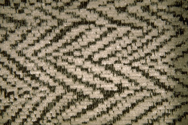 Pattern of upholstery