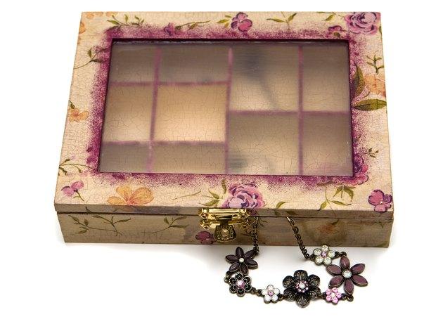 Isolated Decoupage Box