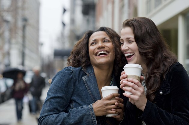 Women with coffee