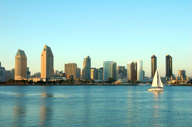 San Diego, downtown cityscape