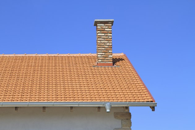 New rooftop and chimney