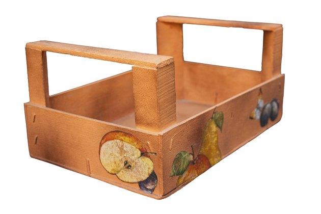 Fruit box decorated