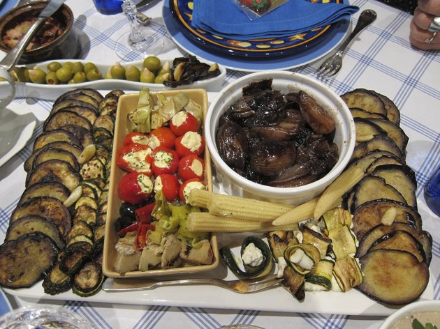 Home Cooking Party / Antipasti and Starters - Mixed plate