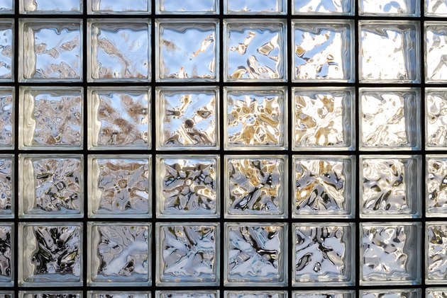 Frosted Glass Tile Window