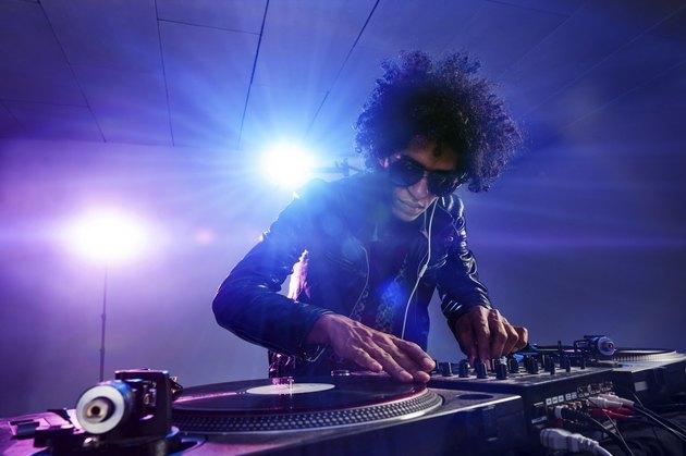 nightclub dj party
