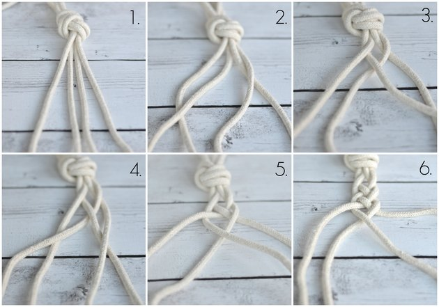 four strand braid instructions