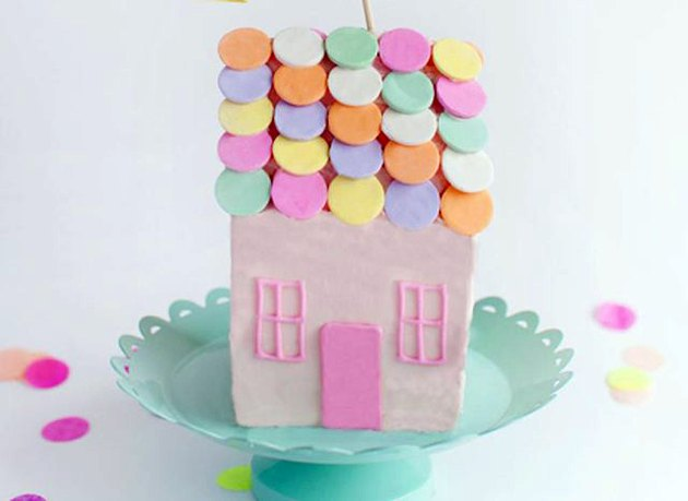 Cake-shaped House