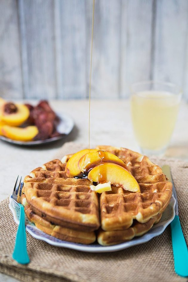 Easy-to-make waffles