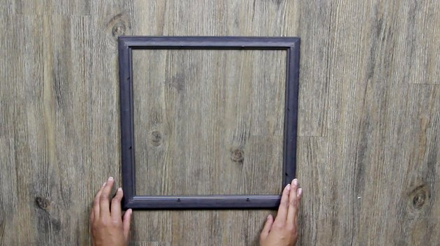 remove inserts and backing from frame