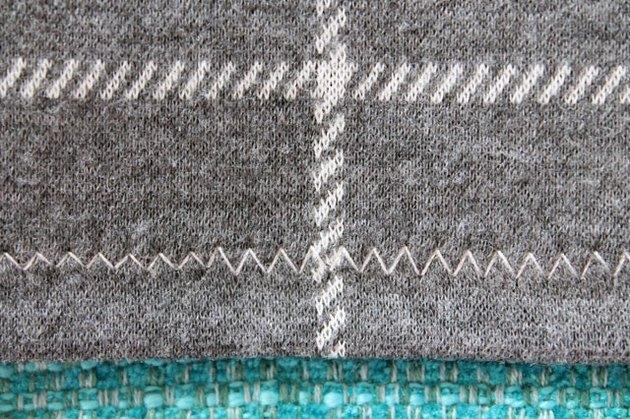 Different zig zag stitch lengths.
