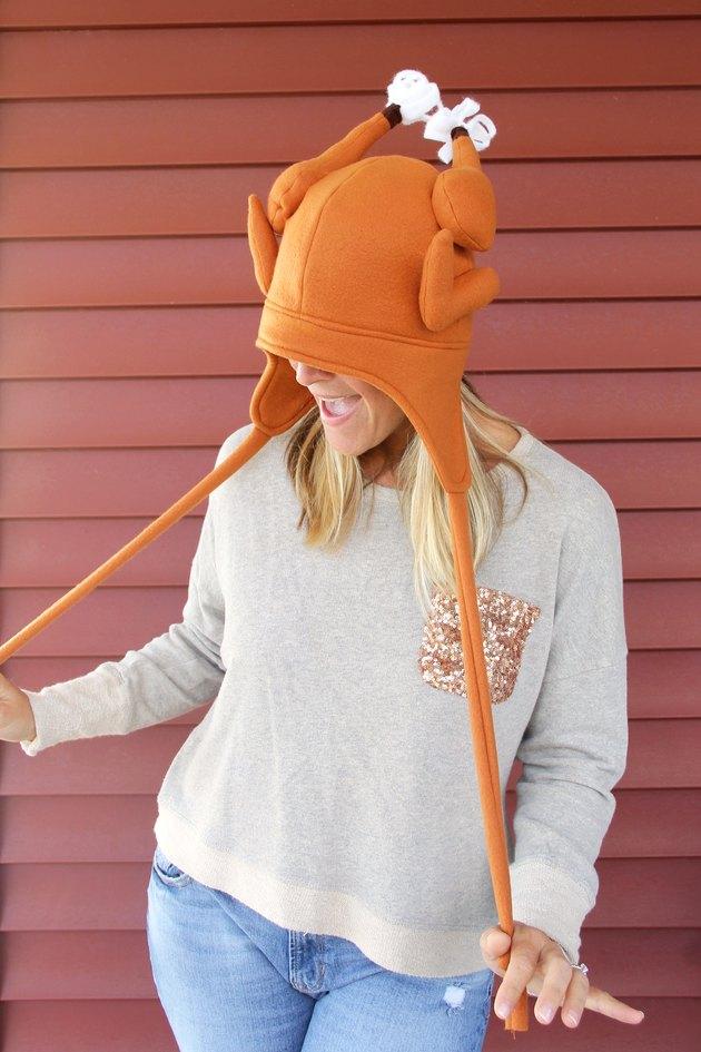 DIY Thanksgiving Turkey Hat (With Free Pattern)