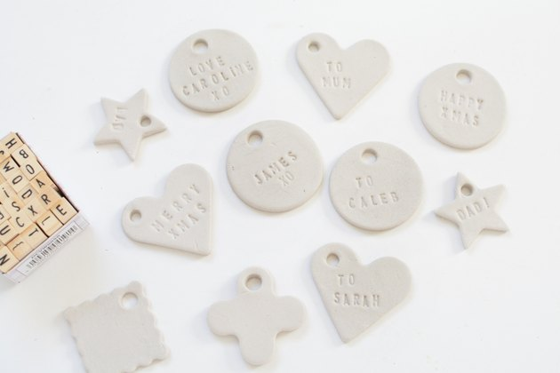 DIY Clay Gift Tags