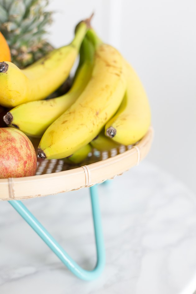 Mid-Century Modern Inspired Fruit Basket