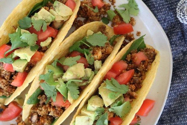 Vegetarian taco meat