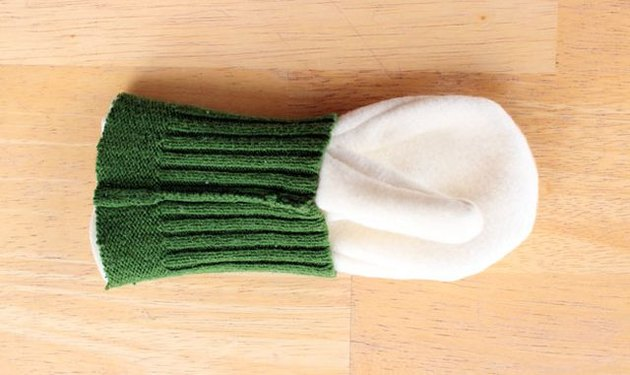 Sweater to Mittens DIY