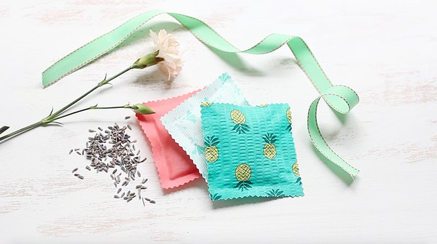 Three scented drawer sachets