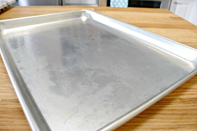 how to get burned food off baking pans naturally