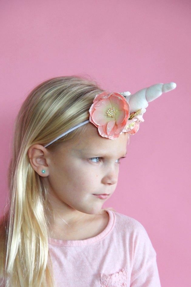 Make a Unicorn Headband with Free Sewing Pattern