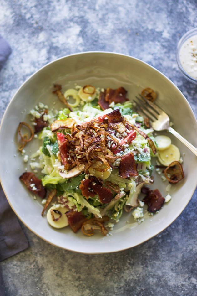 Steakhouse-Style Chopped Salad