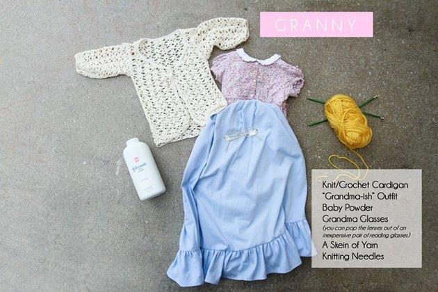 Granny Costume Requirements