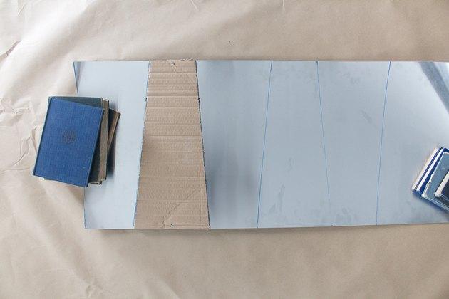 Template on Aluminum Sheet