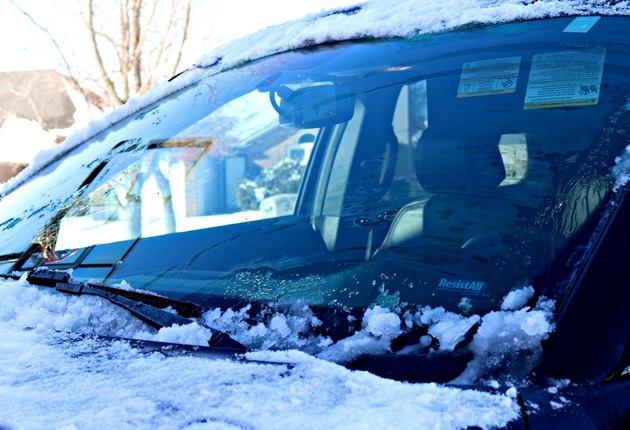 car window and lock de-icer homemade solution
