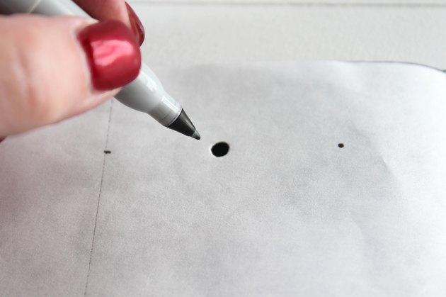 mark holes