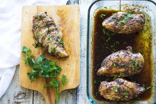 baked juicy chicken breast