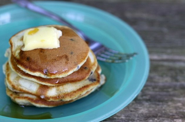 Instant Blueberry Pancakes