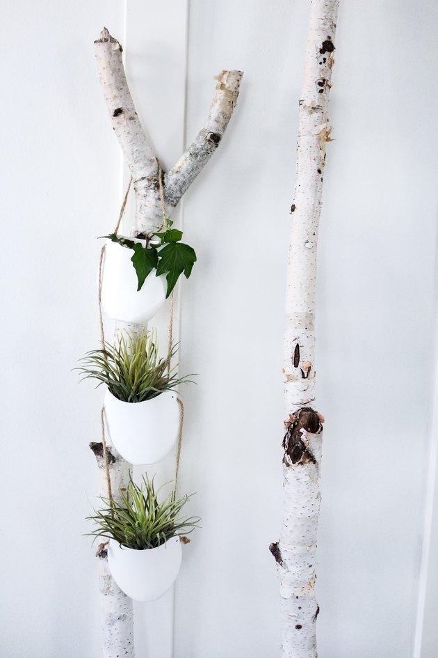 Hanging planter.