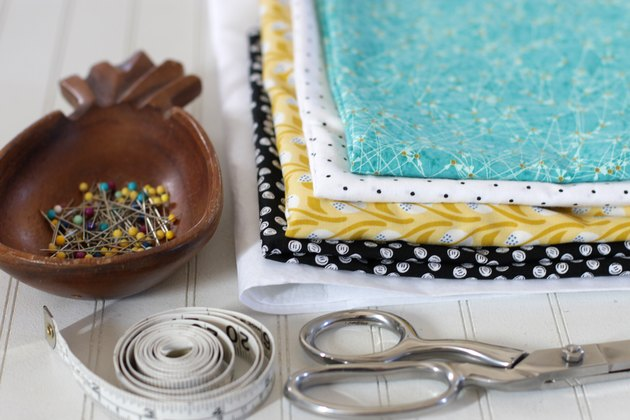 Make a cute fabric storage box in any size you like.