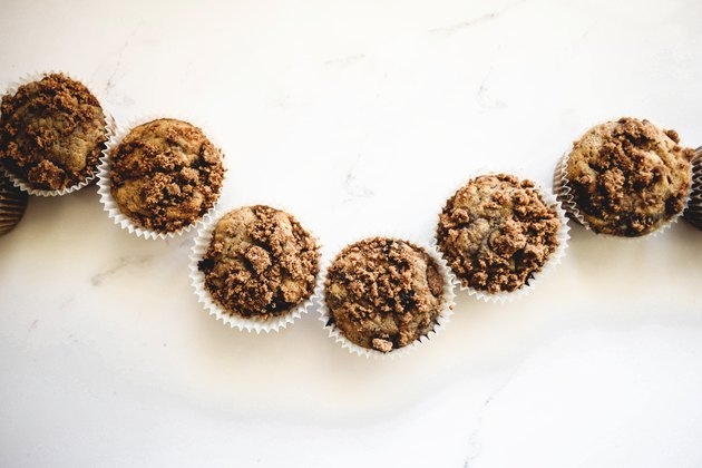 Store the muffins in an airtight container.